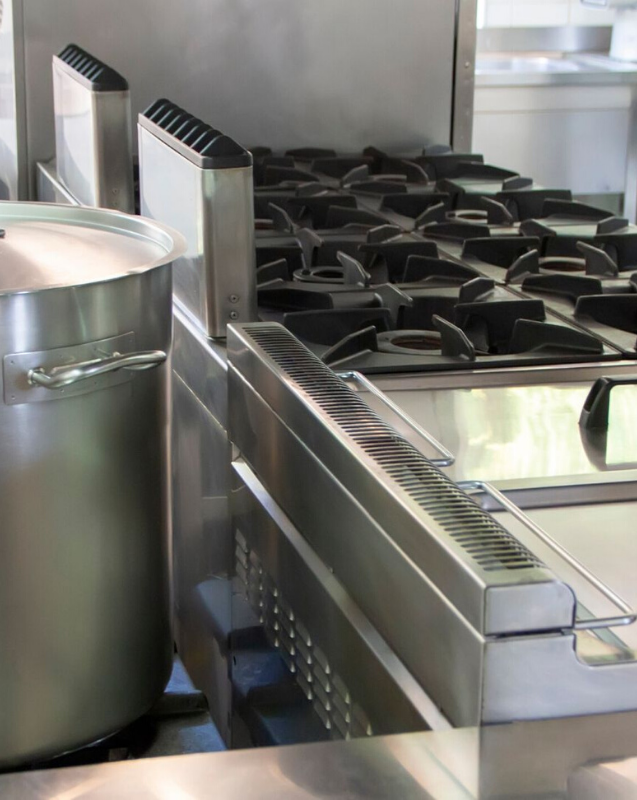 certified commercial kitchen